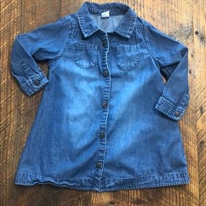 Old Navy Toddler  girl Chambray denim dress